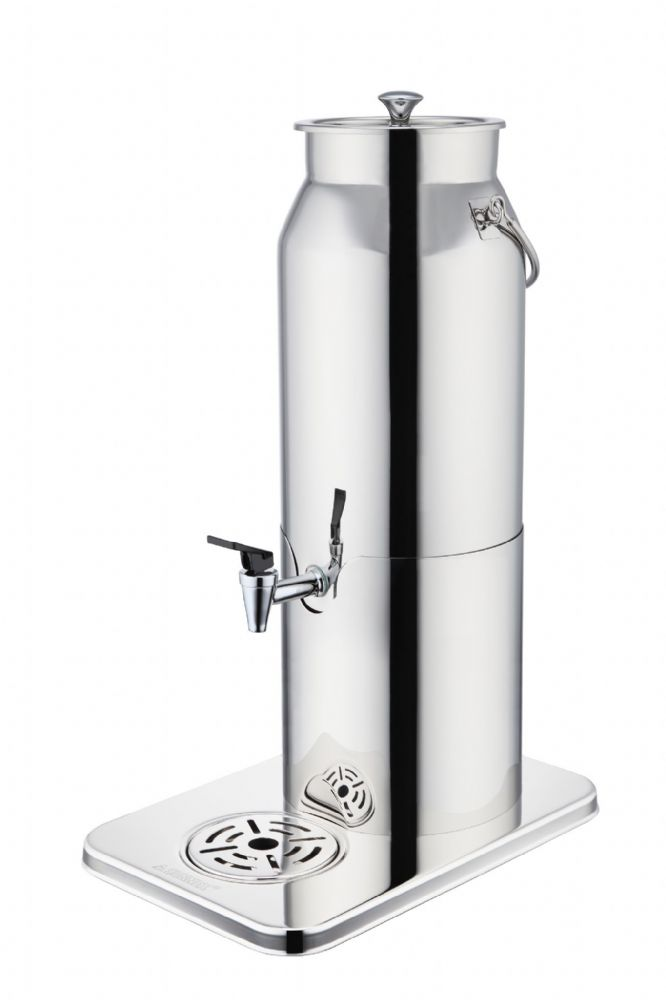 De Luxe All Stainless Steel Chilled Milk Dispenser with a